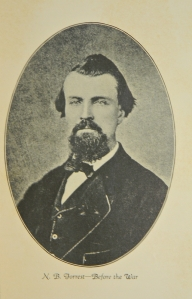 Civilian Image of General Nathan Bedford Forrest from the book BEDFORD FORREST AND HIS CRITTER COMPANY