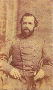 Col. Winchester Hall, commander of the 26th Louisiana Infantry
