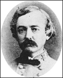 Brigadier General William H.C. Whiting of Biloxi was the 11th Mississippi's division commander at the Battle of Seven Pines