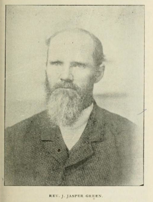 Photograph of John Jasper Green, used with his obituary in Confederate Veteran Magazine.