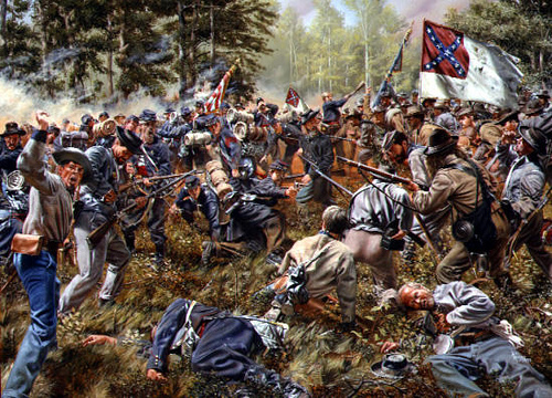 Stewart's Attack at Peachtree Creek