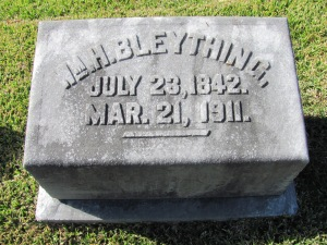 Bleything Grave